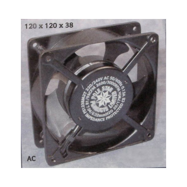 Axial Fan Motor 120X120X25Mm 60075