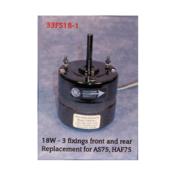 Refrigerator & Freezer Fan Motor 18WATT